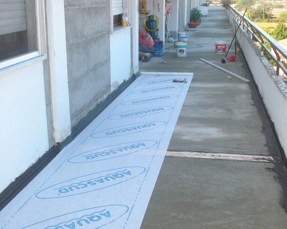 Impermeabilizzazioni balcone aquascud